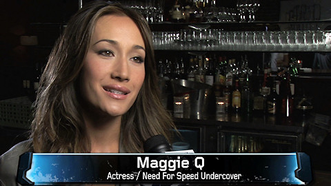 Maggie Q stars in Need for Speed: Undercover