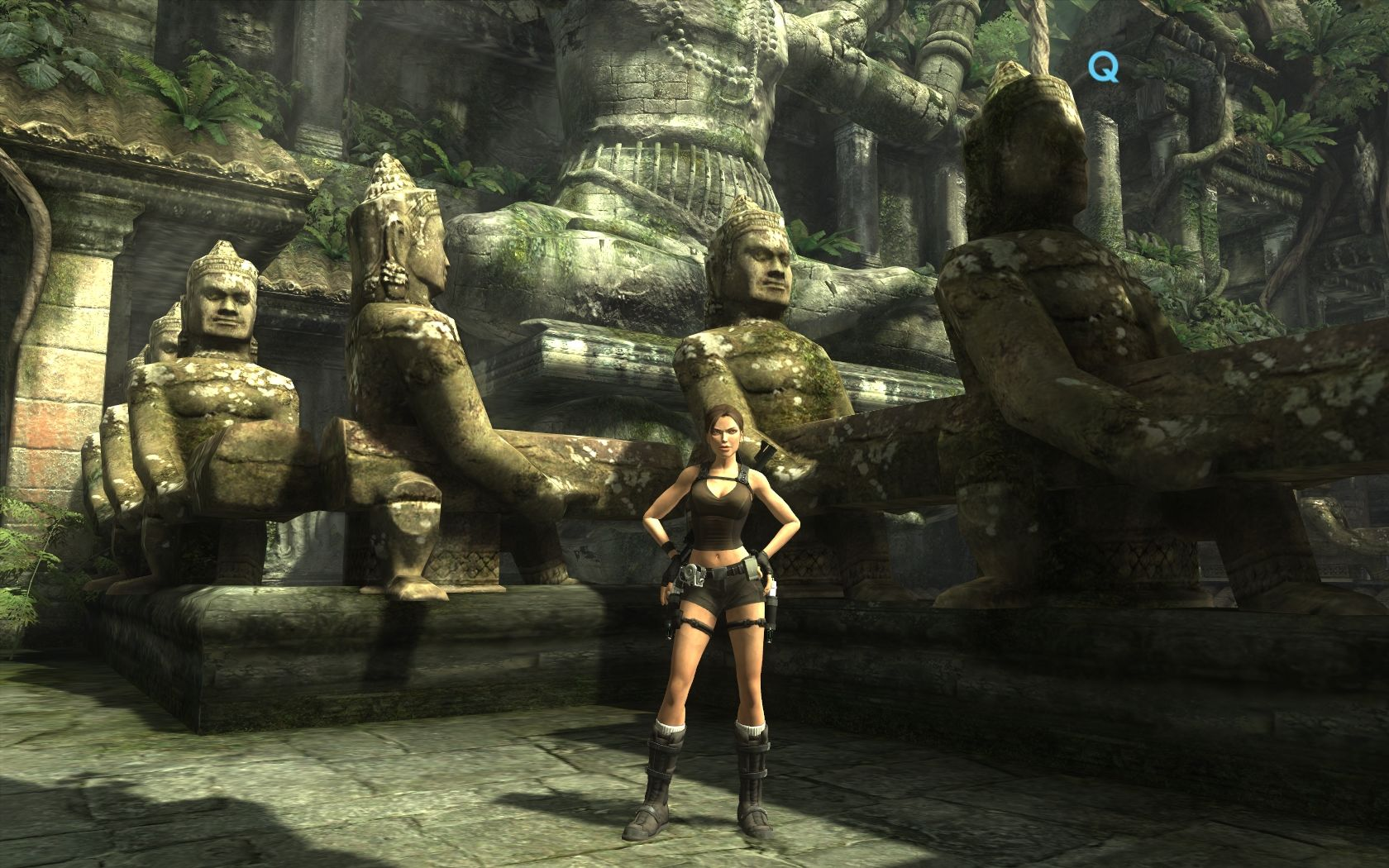 графика в игре Tomb Raider: Underworld
