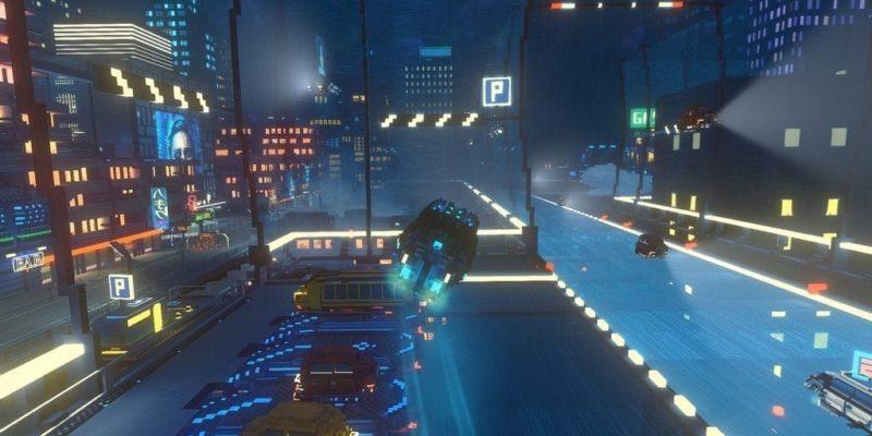 Обзор Cloudpunk - ночная поездка в блестящем неоне
