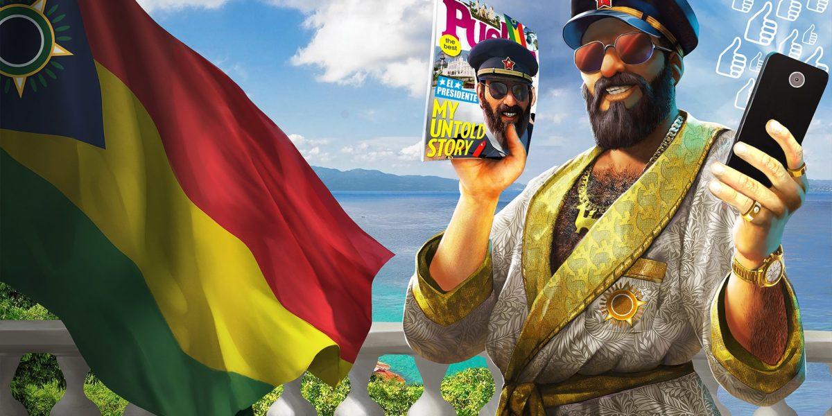 Доминируйте в социальных сетях в Tropico 6 в новом Spitter DLC