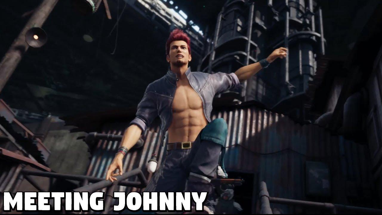 Final Fantasy 7 Remake Guide: Каждая сцена Джонни