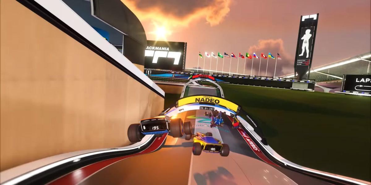Trackmania отложена до июля, появился новый трейлер геймплея