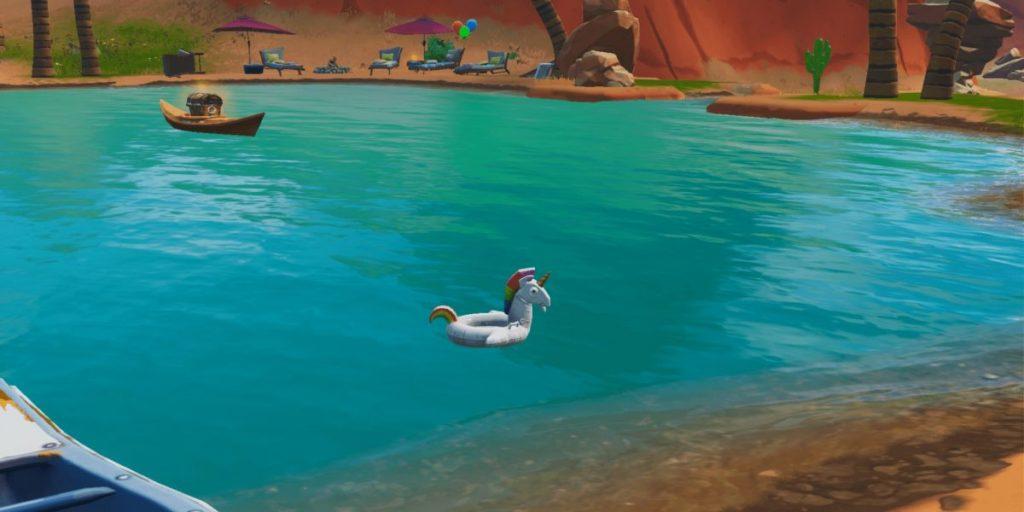 Fortnite возможно, скоро получит подводное плавание