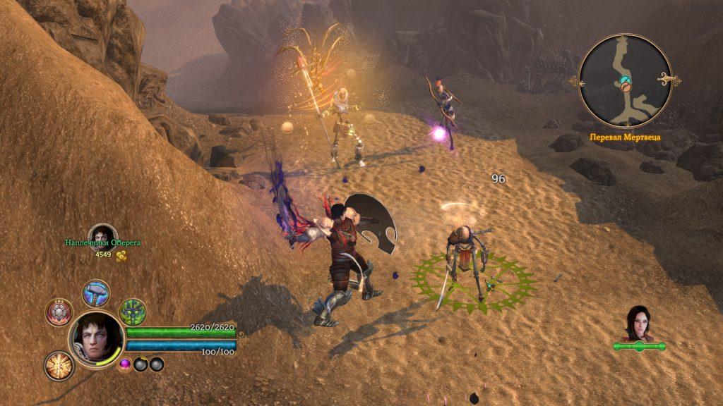 Игровой процесс Dungeon Siege 3