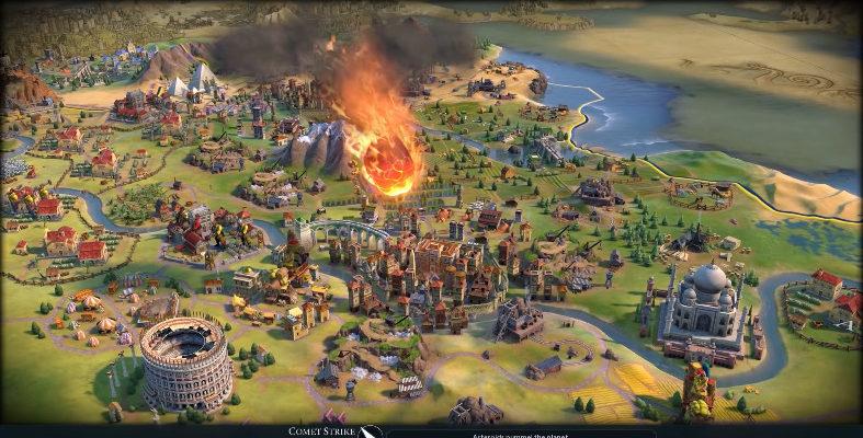 Civilization VI получает Season Pass и метеоритные удары