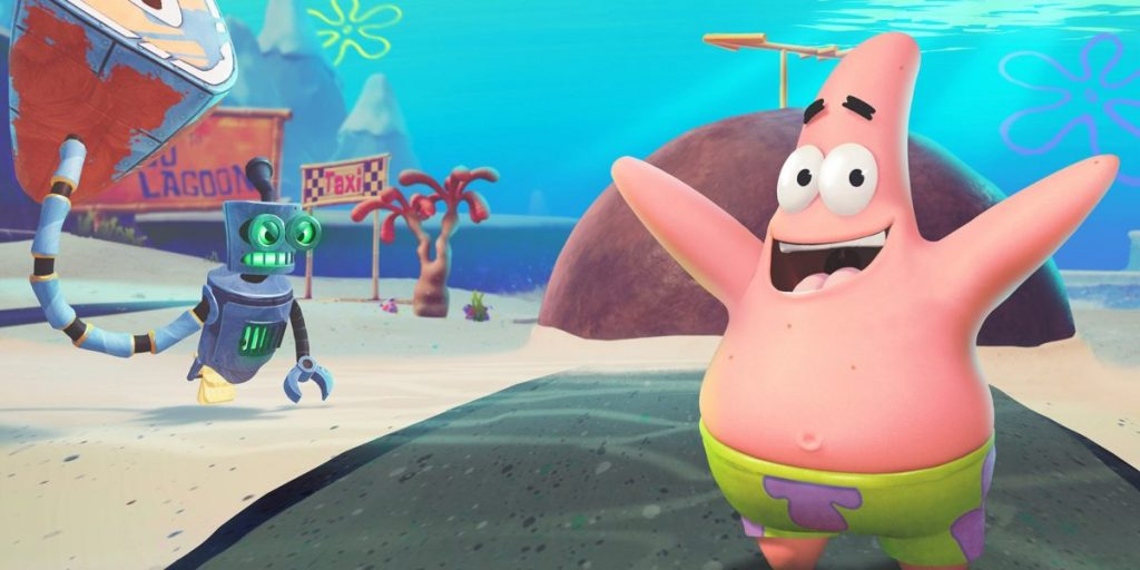 Трейлер SpongeBob SquarePants демонстрирует центр города Bikini Bottom