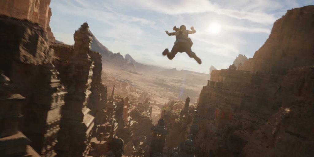 Unreal Engine 5 демонстрируется с технологической демонстрацией с использованием рендеринга Nanite