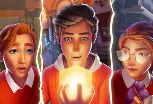 «Гарри Поттер встречает профессора Лейтона» в Академии: Первая загадка