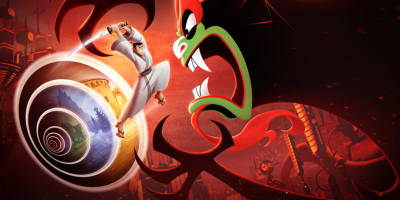 Samurai Jack: Battle Through Time демонстрирует геймплей