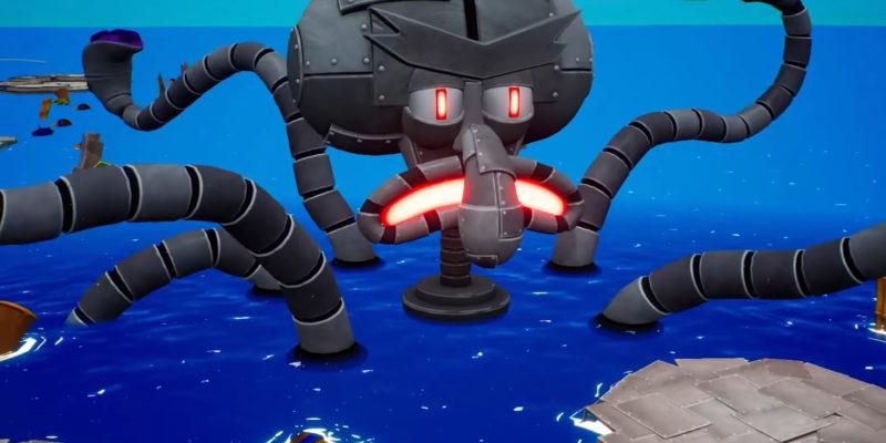 Спанч Боб встречает Robo-Squidward в многопользовательском трейлере Horde Mode