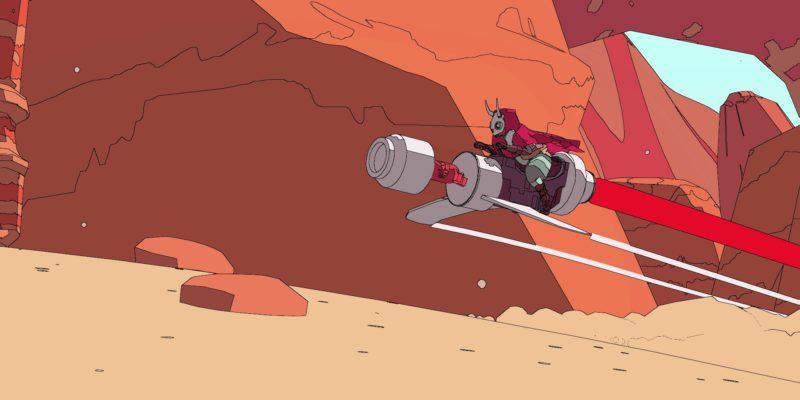 Потрясающее приключение в открытом мире Sable демонстрирует новые кадры геймплея