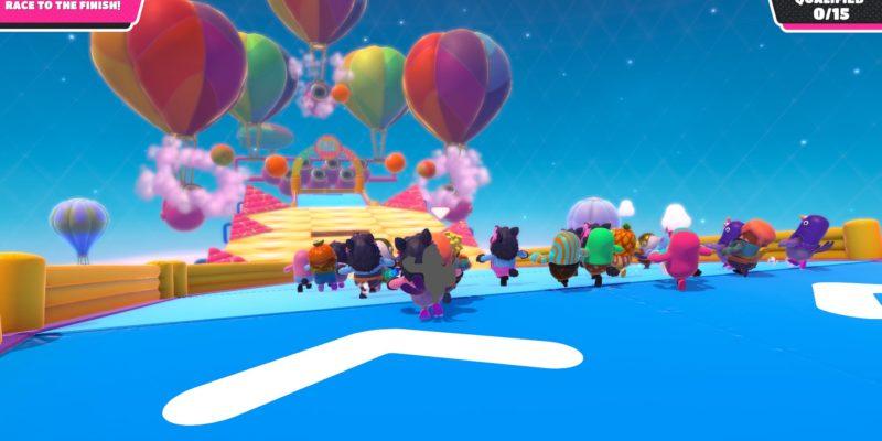 Обзор Fall Guys: Ultimate Knockout - шарики счастливого цвета