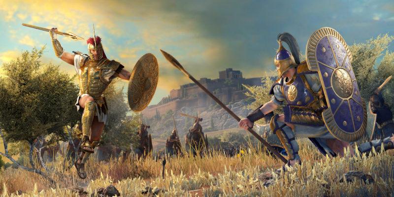 Приготовьтесь к войне в Total War Saga: Troy с греческими и троянскими героями