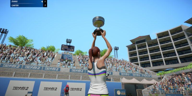 Обзор Tennis World Tour 2 - Двойная ошибка
