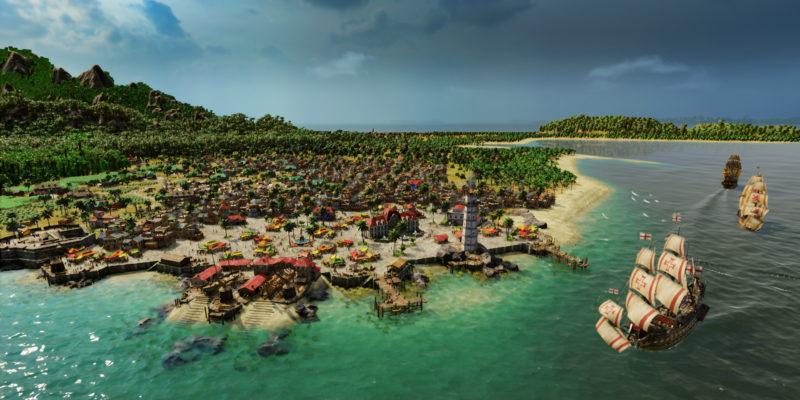 Обзор Port Royale 4 - катера без руля