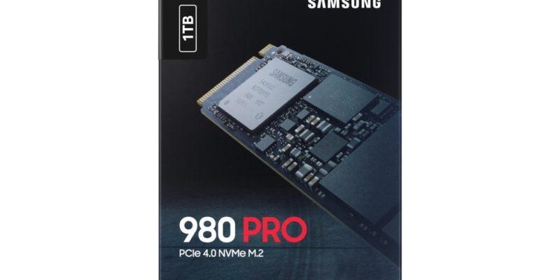Возможна утечка твердотельного накопителя Samsung 980 PRO PCIe 4.0 со скоростью чтения 7000 МБ / с