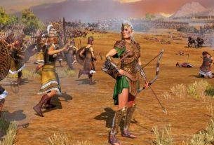 Total War Saga: Troy - гайд по фракции амазонок Ипполиты