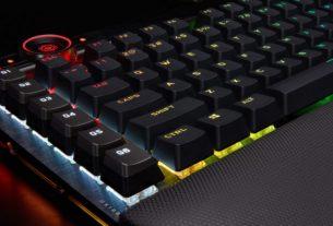 Обзор механической клавиатуры Corsair K100