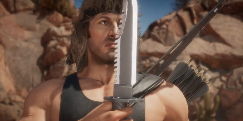 Геймплейный трейлер Mortal Kombat 11 Rambo показывает, что он не просто очередной стрелок