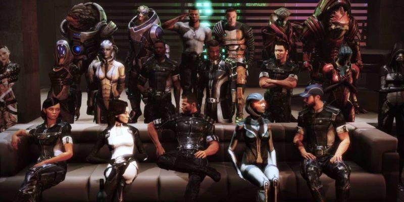 Все признаки указывают на выход ремастера трилогии Mass Effect в день N7