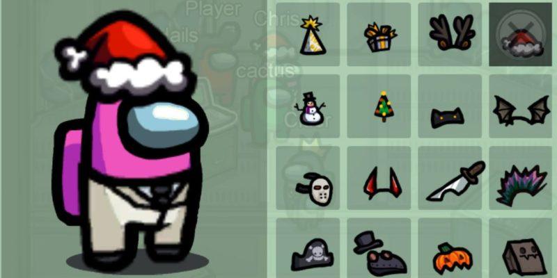 Как пораньше разблокировать рождественские шапки Among Us, чтобы окунуться в атмосферу праздника