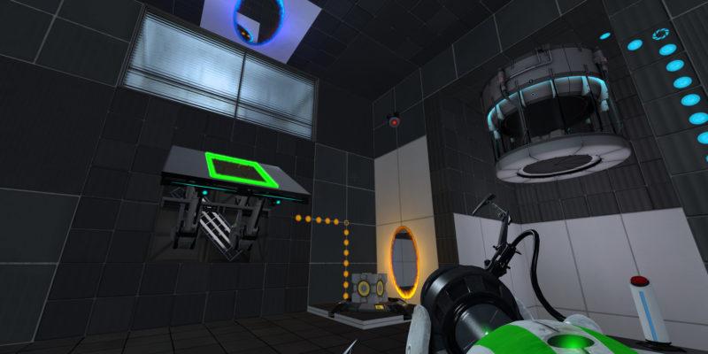 Мод Portal Reloaded позволяет прыгать вперед во времени, чтобы разгадывать новые головоломки