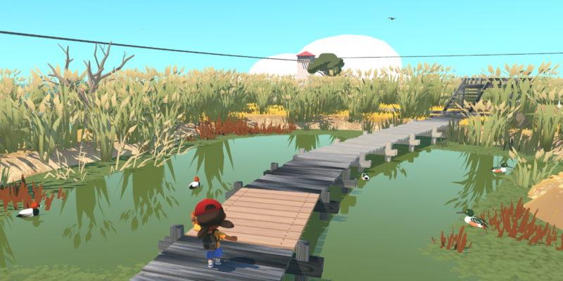 Обзор Alba: A Wildlife Adventure – самая удобная игра 2020 года