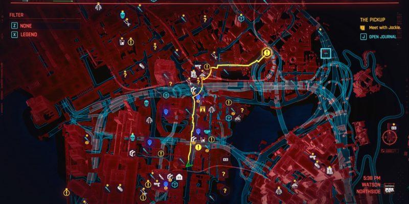 Cyberpunk 2077: как быстро путешествовать по ночному городу