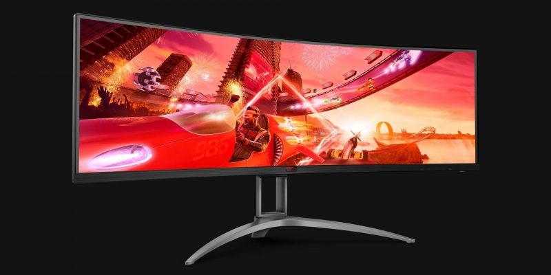 Обзор монитора AGON AG493UCX 49 ″ Super Ultrawide