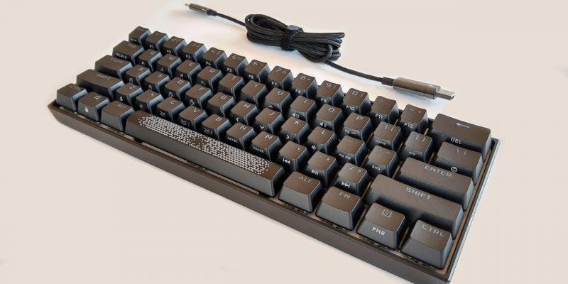 Обзор механической клавиатуры Corsair K65 RGB Mini 60%
