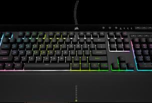 Обзор игровой клавиатуры Corsair K55 RGB Pro XT: мечта машинистки